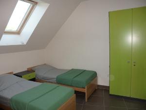 Chambre 3 deux lits